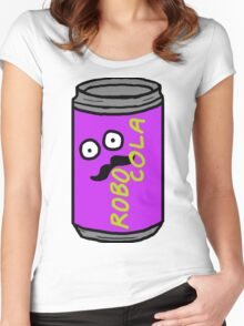 RRDDD Robo Cola Women's Fitted Scoop T-Shirt