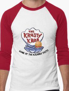 Krusty Krab Men's Baseball ¾ T-Shirt