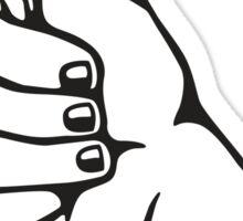 Thumbs up sticker Sticker
