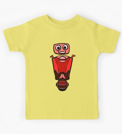RRDDD Red Robot Kids Tee