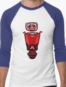 RRDDD Red Robot Men's Baseball ¾ T-Shirt