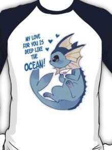 Vaporeon Love T-Shirt
