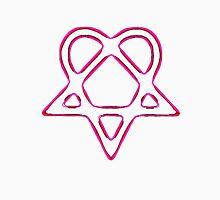 Heartagram Pink Neon Tee Unisex T-Shirt