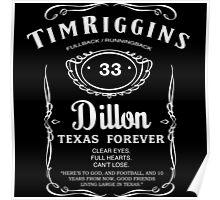 Tim Riggins Whiskey Poster