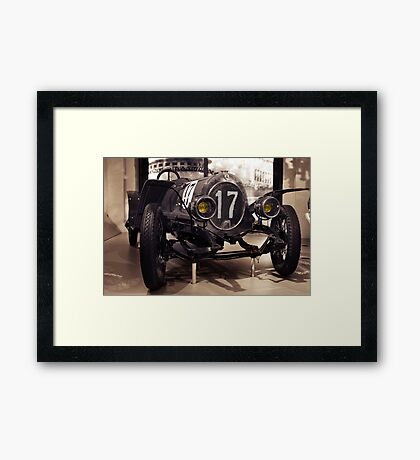 NAG 1913, oldtimer sports car Framed Print
