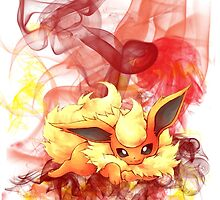 Flareon by CutestPikachu