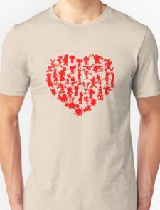 I Love Cartoons Unisex T-Shirt