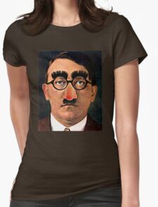 Fuhrer Fun - Adolf Hitler Womens Fitted T-Shirt