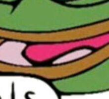 Pepe feels good man Sticker