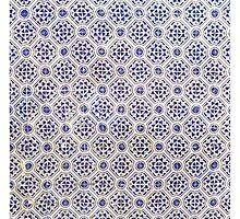 Iberian Moorish Style Blue Pattern by Stephen Frost