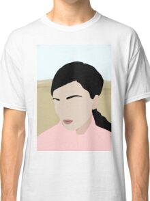 Abigail: a minimal portrait Classic T-Shirt