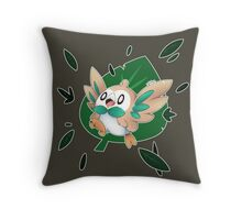 I Choose You - Rowlet! Throw Pillow