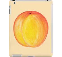 Peach  ~ Watercolor Fruit Painting iPad Case/Skin