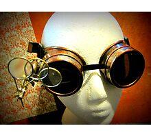Steampunk Goggles 1.0 Photographic Print