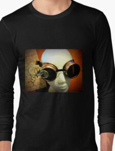 Steampunk Goggles 1.0 Long Sleeve T-Shirt