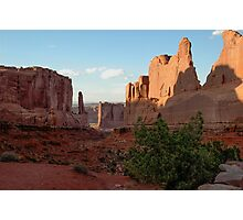 Park Avenue, Arches National Park Photographic Print