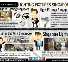 Lighting Fixtures Singapore by InteriorDesigne
