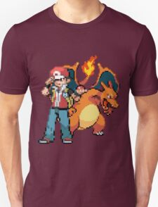Red and Charizard T-Shirt