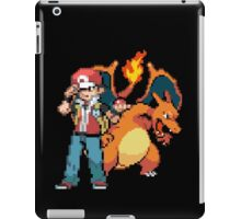 Red and Charizard iPad Case/Skin