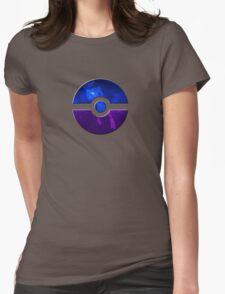 Pokeball / Space / Mew Womens Fitted T-Shirt