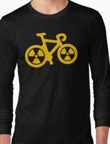 Radioactive Bicycle Long Sleeve T-Shirt