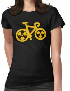 Radioactive Bicycle Womens Fitted T-Shirt