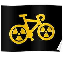 Radioactive Bicycle Poster