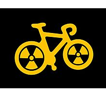 Radioactive Bicycle Photographic Print