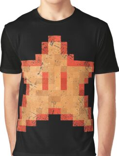 Star of Invincibility Pixels Graphic T-Shirt