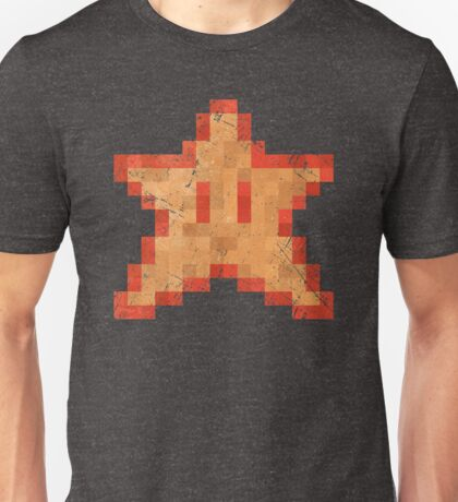 Star of Invincibility Pixels Unisex T-Shirt