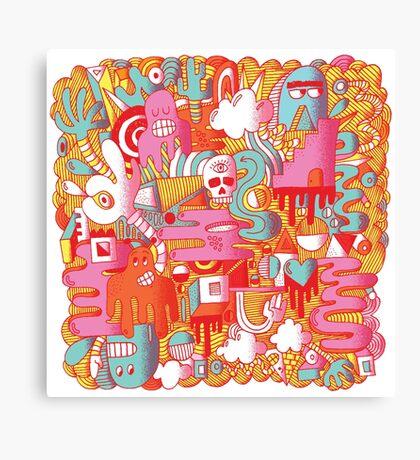 BEEBLEE-DOOP Canvas Print