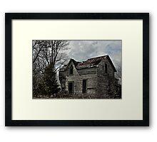 Eerie Abode Framed Print