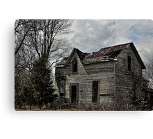 Eerie Abode Canvas Print