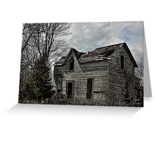 Eerie Abode Greeting Card