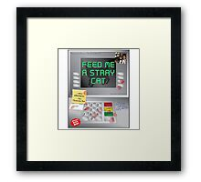 What are you doing?! Framed Print