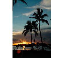 Florida Keys sunset Photographic Print