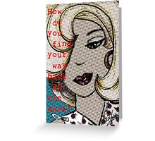 Roslyn 2004/ Marilyn Greeting Card
