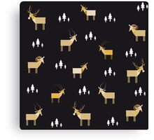 Animals pattern Canvas Print