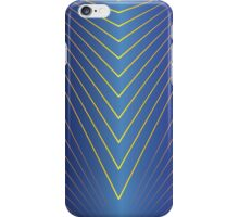 Rays on Sapphire iPhone Case/Skin