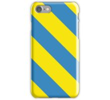 Los Angeles California Yellow and Light Blue Team Colors iPhone Case/Skin