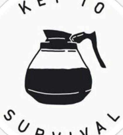 Key To Survival  Sticker