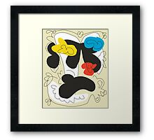 Monaco Modern Art Abstract Framed Print