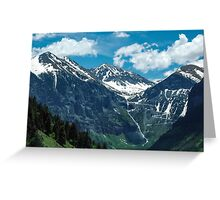 Above Telluride Greeting Card