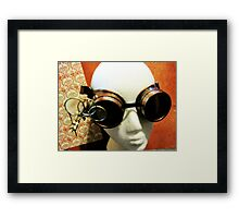 Steampunk Goggles 1.2 Framed Print