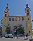 St Peter's Church, Ljubljana, Slovenia by Margaret  Hyde