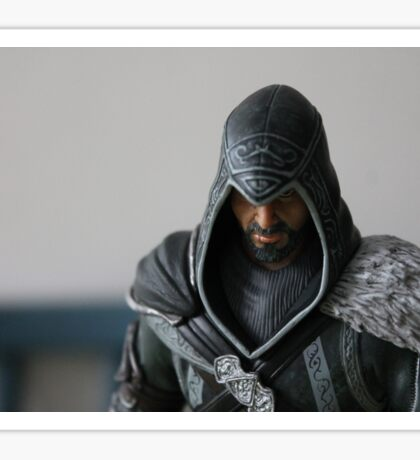 Ezio Auditore Figure Sticker