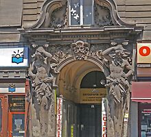 Shop entryway, Budapest by Margaret  Hyde