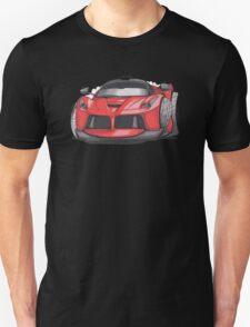 Ferrari Laferrari Caricature Unisex T-Shirt