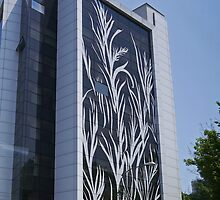 Office Building, Bucharest, Romania by Margaret  Hyde