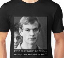 Jeffrey Dahmer vegan bingo Unisex T-Shirt